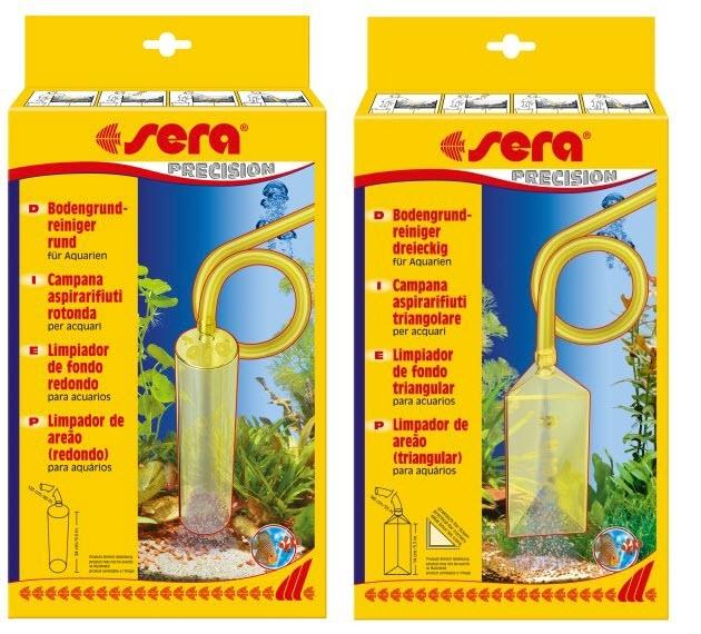 Fish & Aquariums Sera Aspirarifiuti Per Acquario Campana Rotonda Pulizia Acquario Cleaning & Maintenance